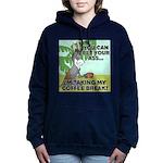FIN-ass-coffee-break Women's Hooded Sweatshirt