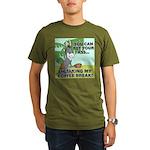 FIN-ass-coffee-break Organic Men's T-Shirt (da