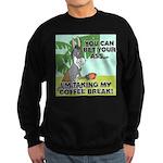 FIN-ass-coffee-break Sweatshirt (dark)