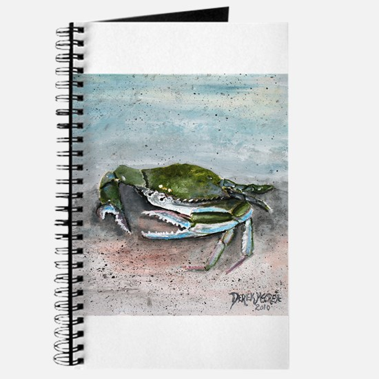 blue crab acrylic painting Journal