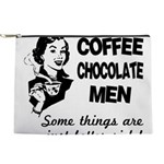 FIN-coffee-chocolate-men Makeup Pouch