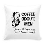 FIN-coffee-chocolate-men Everyday Pillow