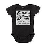FIN-coffee-chocolate-men Baby Bodysuit