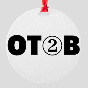 OT 2 B (BLACK) Ornament