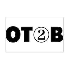 OT 2 B (BLACK) Wall Decal