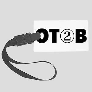 OT 2 B (BLACK) Luggage Tag