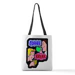 FIN-coffee-break-retro Polyester Tote Bag