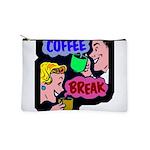 FIN-coffee-break-retro Makeup Pouch