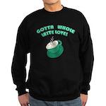 FIN-whole-latte-love Sweatshirt (dark)