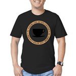 FIN-life-after-coffee Men's Fitted T-Shirt (da