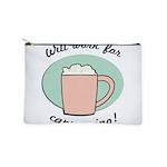 FIN-work-cappuccino Makeup Pouch