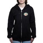 FIN-work-cappuccino Women's Zip Hoodie