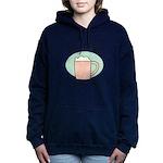 FIN-work-cappuccino Women's Hooded Sweatshirt