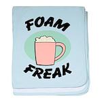 FIN-foam-freak baby blanket