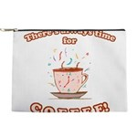 FIN-always-time-coffee Makeup Pouch