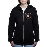 FIN-always-time-coffee Women's Zip Hoodie