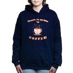 FIN-always-time-coffee Women's Hooded Sweatshi