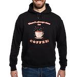 FIN-always-time-coffee Hoodie (dark)