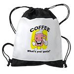 FIN-coffee-quota Drawstring Bag