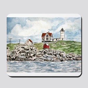 cape neddick lighthouse Mousepad