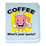 FIN-coffee-quota baby blanket