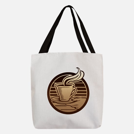 FIN-coffee-mug.png Polyester Tote Bag