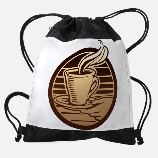 FIN-coffee-mug.png Drawstring Bag