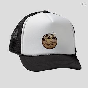 FIN-coffee-mug Kids Trucker hat