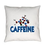 FIN-caffeine-molecule Everyday Pillow
