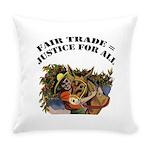 FIN-fair-trade-justice Everyday Pillow