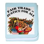 FIN-fair-trade-justice baby blanket