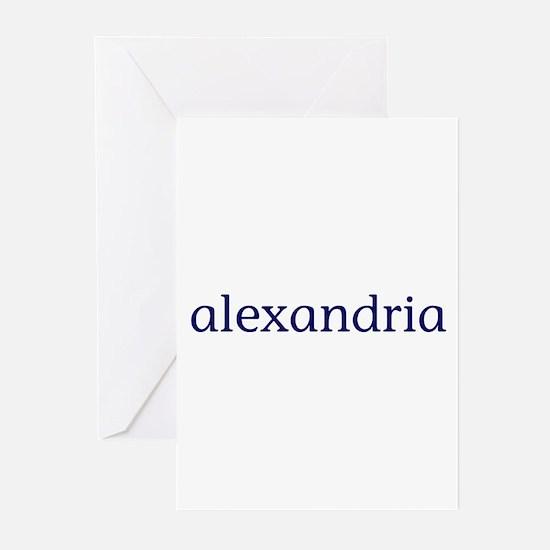 Alexandria Greeting Cards (Pk of 10)
