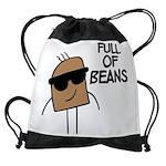FIN-full-of-beans Drawstring Bag