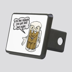 Beer Is The Reason Rectangular Hitch Cover