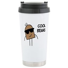 Cool Beans 16 oz Stainless Steel Travel Mug