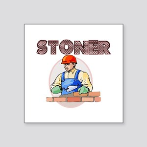 "Stoner Square Sticker 3"" x 3"""