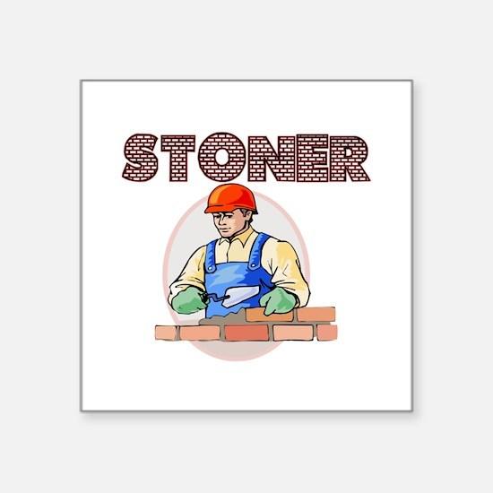 "Stoner Square Sticker 3"" x 3"""