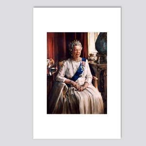 Her Majesty's Portrait DBWF Postcards (Pack of 8)