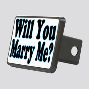 Will You Marry Me? His Rectangular Hitch Cover