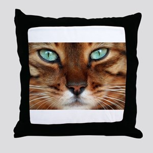 Paws and Wiskers Throw Pillow
