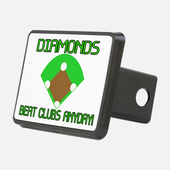 Diamonds Beat Clubs Hitch Cover