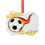 Goal Getter Picture Ornament