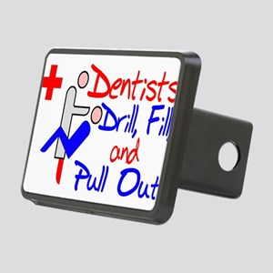 Dentists Drill Rectangular Hitch Cover