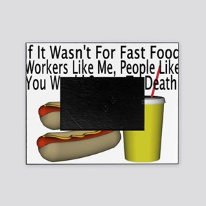 Fast Food Worker Picture Frame