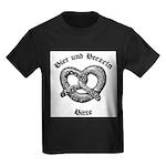 Bier Und Brezeln Kids Dark T-Shirt