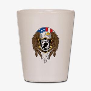 POW/MIA Eagle Shot Glass