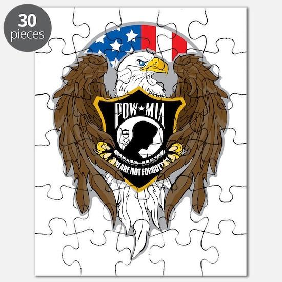 POW/MIA Eagle Puzzle