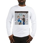 Hand Dryer Jetpack Long Sleeve T-Shirt