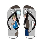 Hand Dryer Jetpack Flip Flops