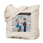Hand Dryer Jetpack Tote Bag